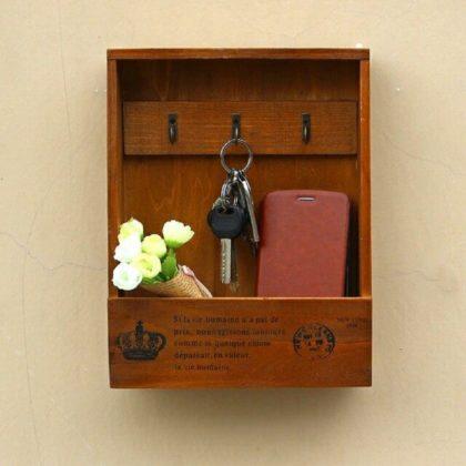 Buy 1 Get 1 Free Wooden Key & Mobile Holder