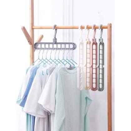 Plastic 9 Hole Hanger Hanging hook