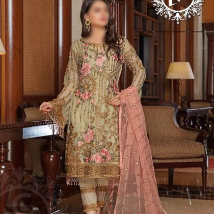 Ladies Suit Ramsha In Just 4650+200 Delivery charges