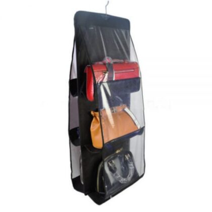 Buy 1 Get 1 Free, 6 POCKET FOLDABLE HANGING BAG