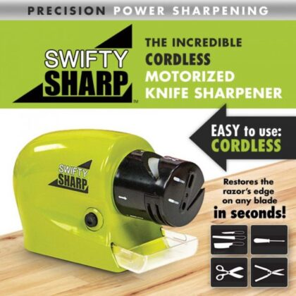 Swifty Sharp Motorized Knife Sharpener (1099 + 200 Delivery Charges)
