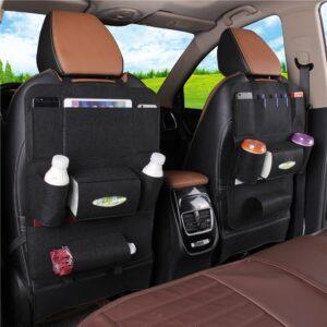 NEW AUTO CAR SEAT BACK MULTI-POCKET STORAGE BAG ORGANIZER HOLDER ACCESSORY