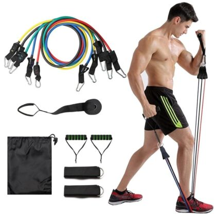 Resistance Bands Exercies (Home Gym)